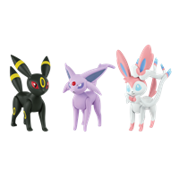 Umbreon / Espeon / Sylveon (Full set)