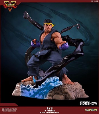 Ryu V-Trigger (Player 2 Blue)